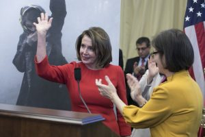 Honorable Nancy Pelosi Minority Leader at the House of Representatives, Speaking at OIAC Nowruz celebration at the Capitol Hill- March 2018