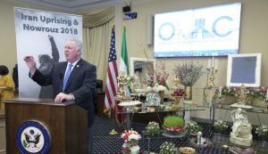 Rep. Albio Sires (D-NJ), Speaking at OIAC Nowruz celebration at the Capitol Hill- March 2018