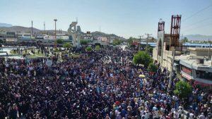 Iran MEK: Kazerun Protests Continue Despite Heavy Security Measures