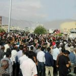 Iran Protests in Kazerun