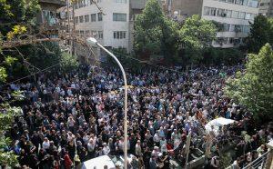 Nasser Malek Moteie's funeral