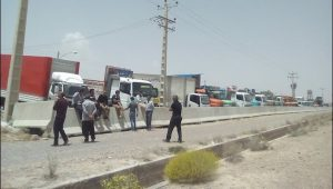 Truck driver's strike on its 5th day.