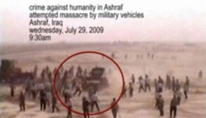Iraqi forces run over Camp Ashraf residents