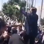 "Brave woman chants ""Death to Khamenei"""