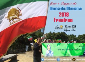 FreeIran Gatheing in Paris.
