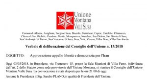 Italian Municipalities Support for #FreeIran2018 gathering