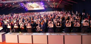 Commemoration of 30,000 MEK supporters executed during 1988 massacre of Political prisoners