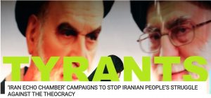 portray of Rouhani and Khamenei