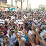 Iran protests in Borazjan over water shortages.