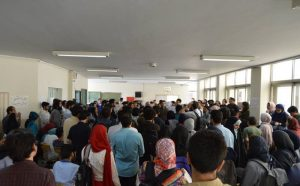 Student's protest against harsh sentences for their classmate arrested during Iran uprisings