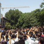 Iran Protests a daily scene in Iran