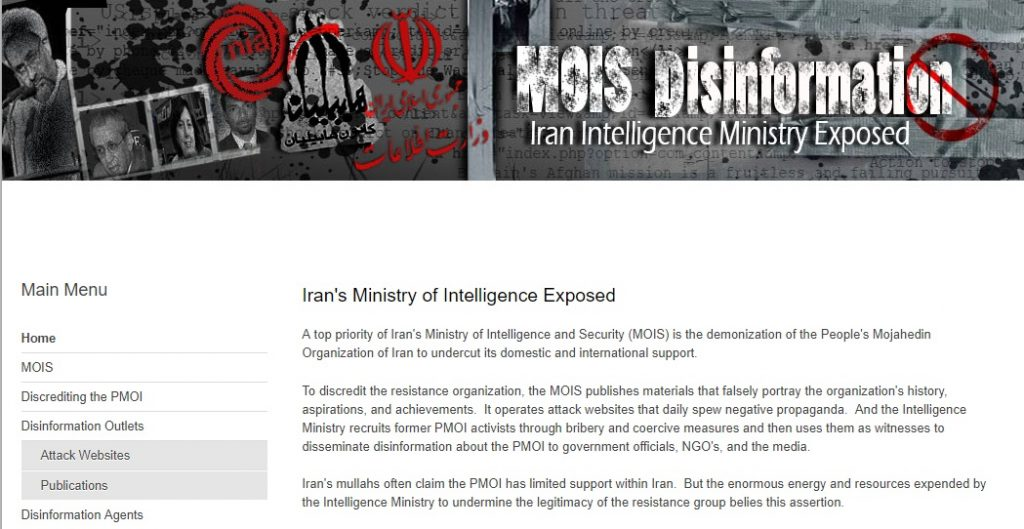 MOIS activities trying to blame the opposition for the terror plot to bomb Free Iran rally in Paris