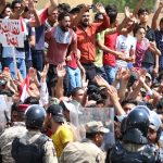 Demonstration in Basrah-South of Iraq