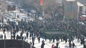 Demonstrations in Mashhad, Iran- December 2017
