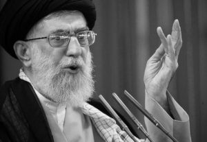 Iranian regime's Supreme leader during recent speech in the aftermath of July-August protests in Iran