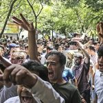 Protest in Tehran - June 2018
