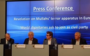 NCRI News Conference in Brussels, exposing new details of recent foiled terror plot to bomb FreeIran Rally