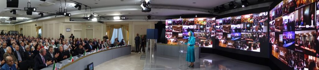 The gathering of Iranian communities around the world marking the 30th anniversary of the 1988 massacre of political prisoners in Iran.