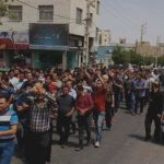 Iran protest in various cities