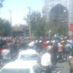 Protest by people of Isfahan