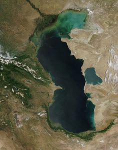 The Caspian sea