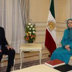 Maryam Rajavi meets Patrick Kennedy in Paris