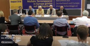 News conference in Berlin to expose new details of Iranian regime's failed terror plot in June 30th, 2018