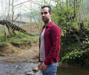 Reza Outadi a protester who was shot dead by Iranian regime security forces in Karaj