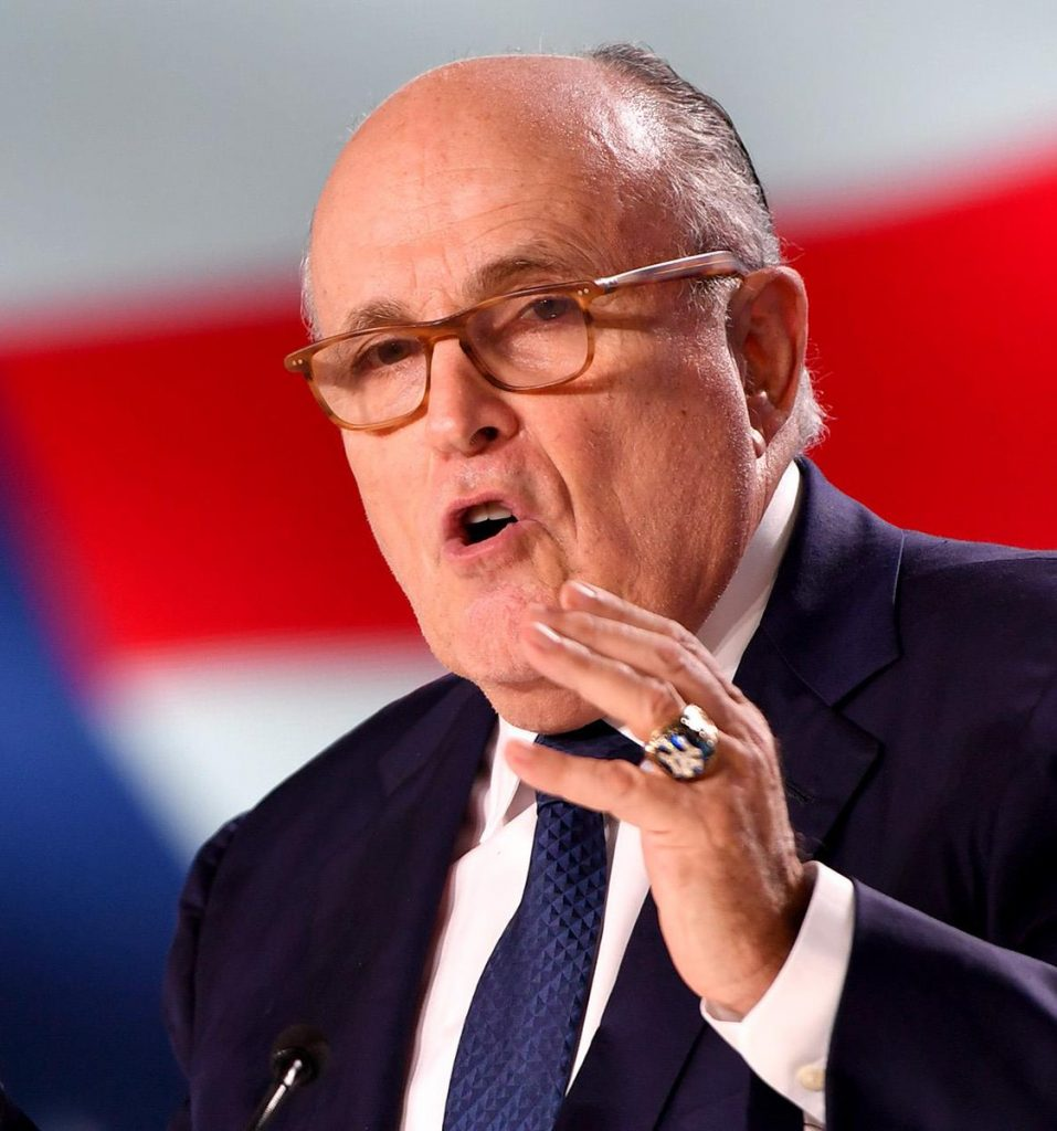 Rudy Giuliani addresses Free Iran Summit in New York