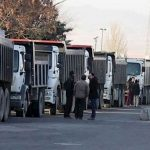 6th day of truck driver's strike in 220 cities across Iran