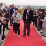 German delegation visit MEK residence in Albania