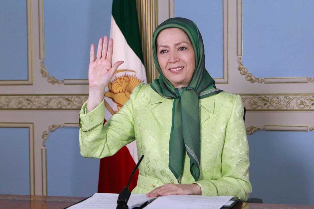 Maryam Rajavi addresses Brussels Conference on Iran New Wave of Terrorism