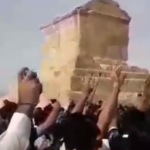 protest in Pasargad