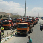 Truck driver's strike continues in to third week