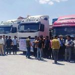 Truck Driver's strike continues
