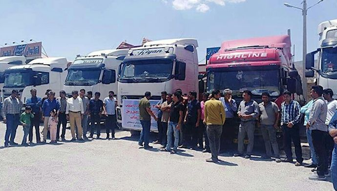 Truck driver's strike enters 9th day