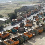 Truck Drivers' strike in Iran Continues