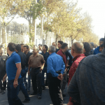 Truck drivers' protest continue in Iran