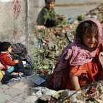 Widespread child malnutrition as a result of poverty in Iran