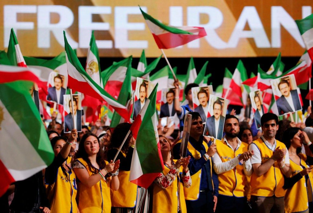 Free Iran Rally in Villepint Paris.