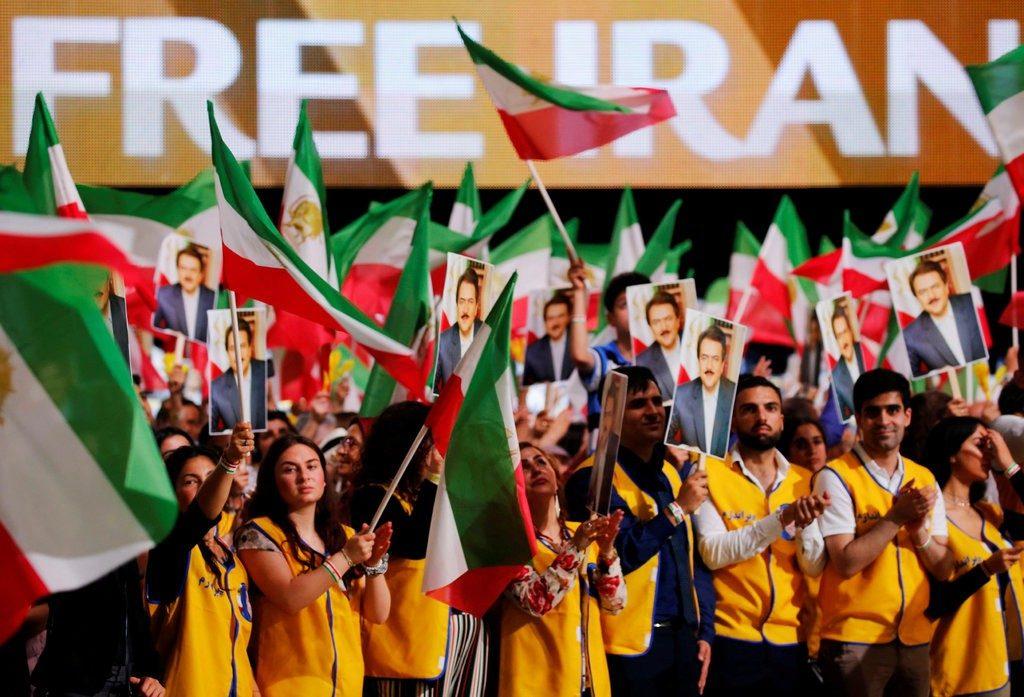 Free Iran Rally in Villepint Paris.