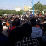 Iran protests in Haft-Tappeh