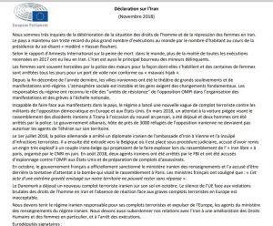 MEP's statement against Iranian regime's terrorism in Europe