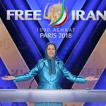 Maryam Rajavi, the leader of Iran opposition, speaking at Free Iran Rally in Paris- June 2018