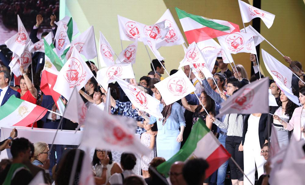 MEK supporters