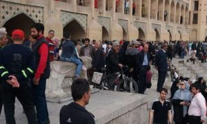 Farmer's protest in Isfahan