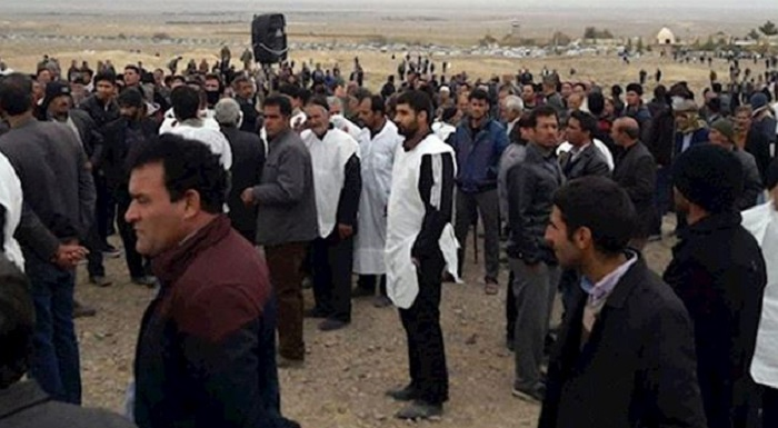 East Isfahan farmer's protest for water rights.