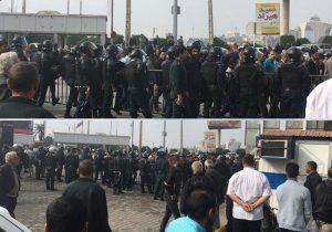 Iran Protests continue in Haft-Tappeh and Ahvaz