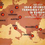 Map of terrorist activites