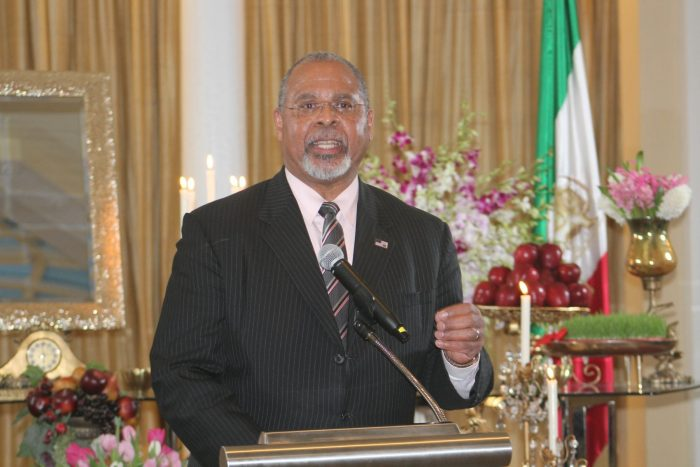 Ambassador Ken Blackwell Speaking at Nowrouz ceremony in Washington D.C